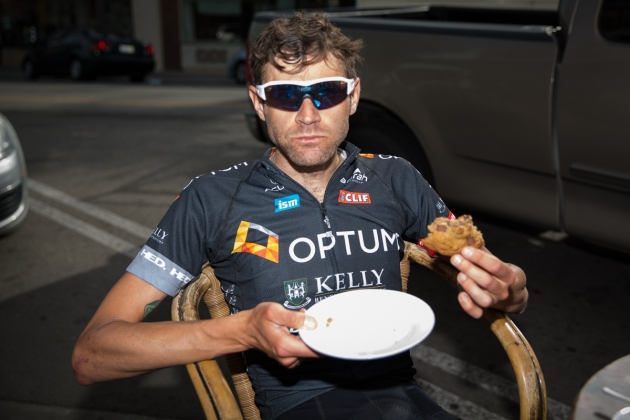 Too many cookies? No such thing, according to Phil. Photo: Sam Wiebe