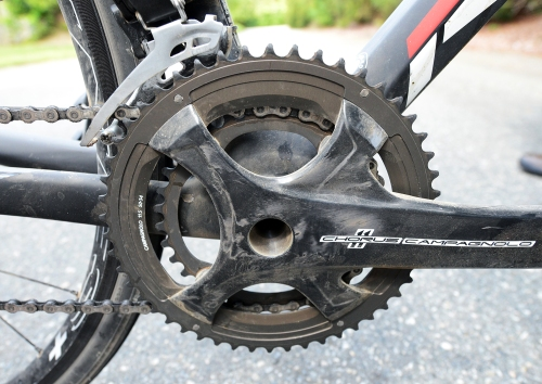 For Alpine Loop, Brian switched to compact chainrings
