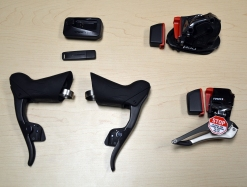 SRAM Red eTap Upgrade Kit components