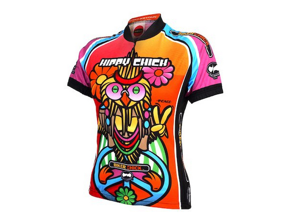 World Jerseys Women's Hippy Chick Short Sleeve Jersey.jpg